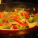 Add the bell peppers
