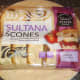 Pack of sultana scones