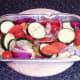 Mixed Mediterranean vegetables for roasting