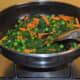 Soup making in progress