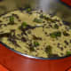 Khaman dhokla with the tempering.