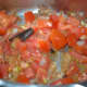 Step four: Add chopped tomato. Stir-cook till it becomes soft.