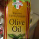 olive oil under the fish
