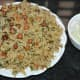 Methi chana pulav or fenugreek black chickpea pulav is ready to eat. Serve it hot with a yogurt-based cucumber-onion raita or salad. Enjoy eating!