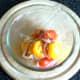 Combining jellyfish salad ingredients
