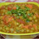 Now, dried green peas curry is ready! Serve it with flatbread, roti or chapati. Enjoy eating!