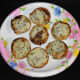 Serve 6–8 hot paddus on a plate with a coconut chutney or any other chutney or sauce. Enjoy!