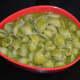 Step nine: Super tasty ginger coconut green pasta is ready! Serve it hot in a bowl. Enjoy eating.