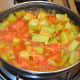 The mix will look like this after cooking.