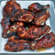 barbecued (grilled) chicken