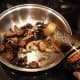 Add your balsamic vinegar and stir again, letting cook for a minute.