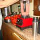 Run the tomatoes through a blender to break up the seeds and skins.
