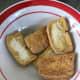5 squares fried tokwa (tofu)