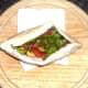 Salad filled pitta pocket