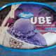Ube (purple yam) ice cream