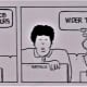 THE JOB CROWD Cartoons by Charles Criner