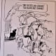 Houston Oilers Cartoon by Charles Criner