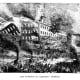 Burning of Barnum's Museum in 1865.