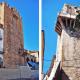 Figure 7: Left to right, Torre de Bujaco and Torre del Juramento de los Espaderos