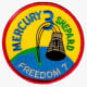 Mission Patch: Alan Shepard/Freedom 7