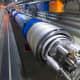 The underground tube at CERN.