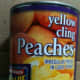 Any brand of sliced peaches in heavy syrup.