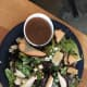 The Sea Coaster is my favorite salad. It has a fantastic tangy flavor from the bleu cheese and balsamic vinaigrette dressing. The apples add just enough sweetness. It pairs fantastically with the German Shepherwizen.