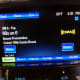 Volt radio screen.  Shown using the Sirius option.  Pandora is also available, as well as normal broadcast and the single CD player.