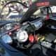 Interior of Batmobile