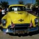 Front of 1950 Oldsmobile Futuramic 88