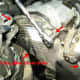 O. Upper timing belt cover removal