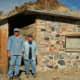Stone miner's cabin near Quartzsite.