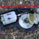 Toyota Camry door lock actuator with cover open