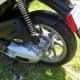 Rear wheel of Piaggio Liberty 150
