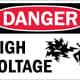 the sign warning you of the electric fence