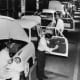 A car assembly line from the late 1950s in Australia - no fires here!