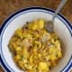 A delicious Jimmy Dean breakfast bowl I was able to try for free courtesy of the Insiders.