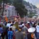 The main procession of Kullu Dussehra.