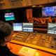 Lighting control room, Leipzig Opera.