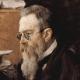 Portrait of Rimsky-Korsakov by Serov