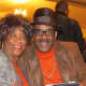 Julius and Jackie Johns, enjoyed the evening which was filled with oldies but goodies music.