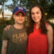 """In 2015, my daughter took a photo with actor Daniel Radcliffe of Harry Potter fame.  He was on set nearby filming the movie, """"Imperium."""""""