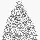 Christmas Tree with Lots of Ornaments