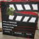 Make or buy a director's clapboard pinata.