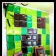 Minecraft 'plastic tray' wall