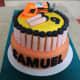 Nerf Gun Cake.