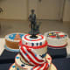 National Guard cakes.
