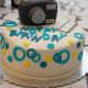 Birthday cake for a photographer.