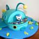 Octonauts cake.