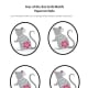 Rats in Chinese paper-cut style—I placed them in an oval to make them easier to cut out. Use to decorate cards or bookmarks.